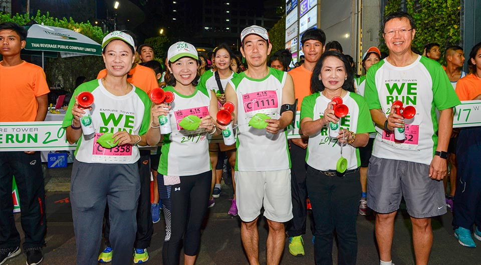 Empire Tower We Run 2017 with Virgin Active