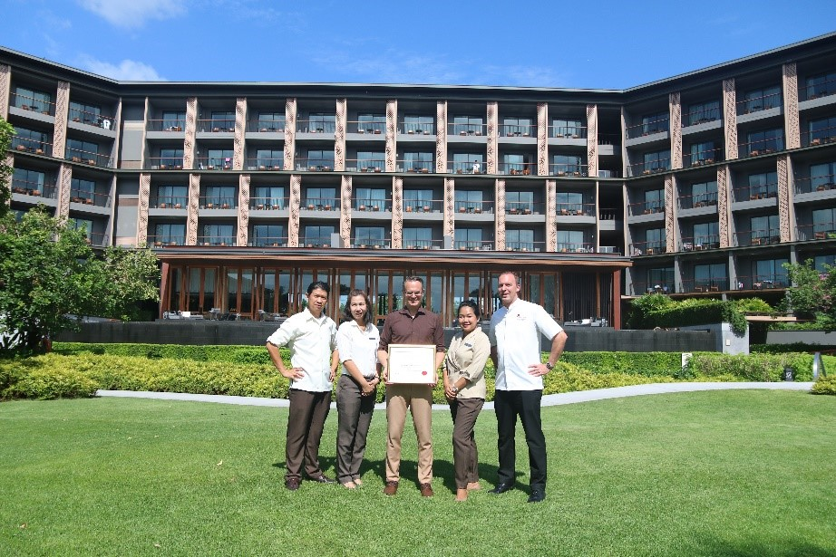 """Hua Hin Marriott Resort & Spa named as one of the """"Top 100 Luxury Resorts Worldwide"""" for 2019"""
