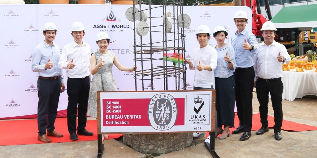 Asset World Corporation (AWC) moves ahead in strengthening hotel portfolio with first piling ceremony of Innside Bangkok Sukhumvit