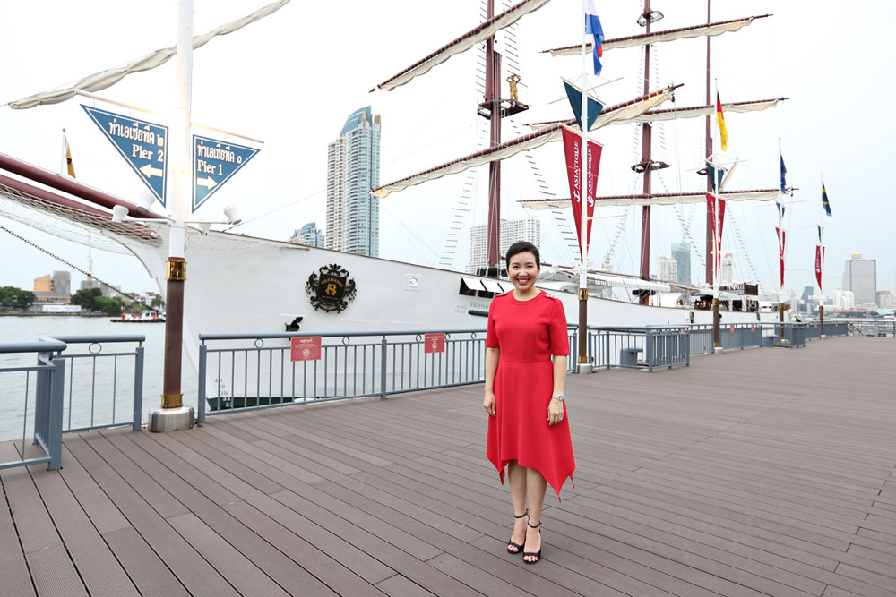 """Asiatique The Riverfront to reopen with three phenomenal experiences that will accentuate the new 'Heritage Alive' concept with launch of """"Sirimahannop Tall Ship"""", a new landmark by the Chao Phraya riverbank"""
