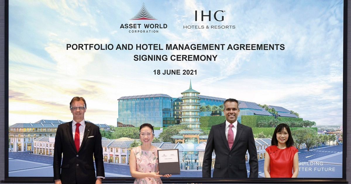 Asset World Corporation to shape the New Dynamic Thai Tourism Industry through 5 Property Agreement with IHG Hotels & Resorts