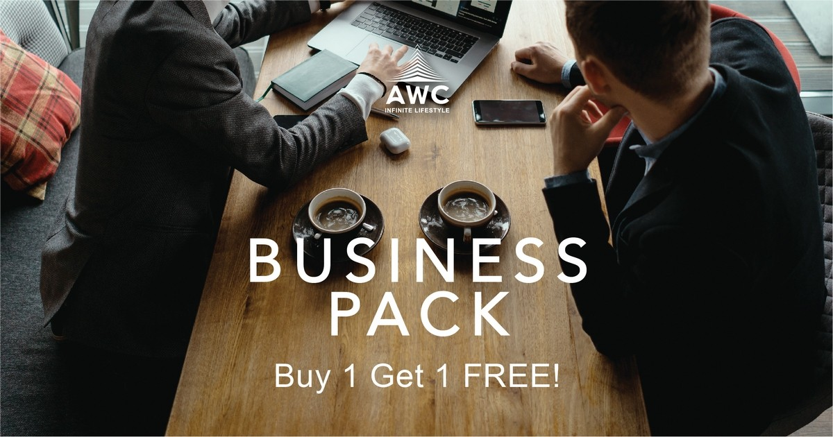 AWC Infinite Lifestyle โปรโมชั่นพิเศษ Buy 1 Get 1 'Business Pack'