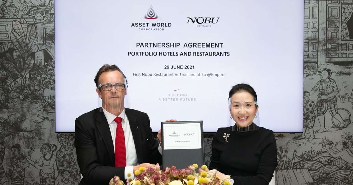 Asset World Corporation Joins Hands with Nobu Hospitality  to launch rooftop venue at Empire Tower