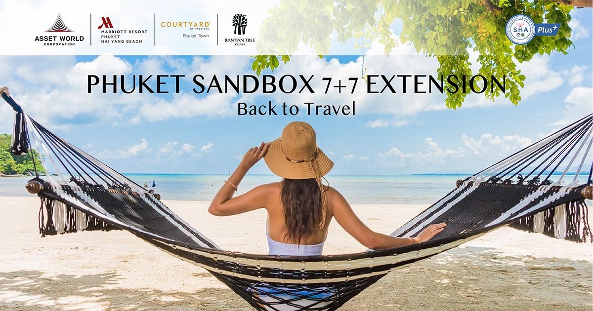 Phuket Sandbox 7+7 Extension - Back to Travel