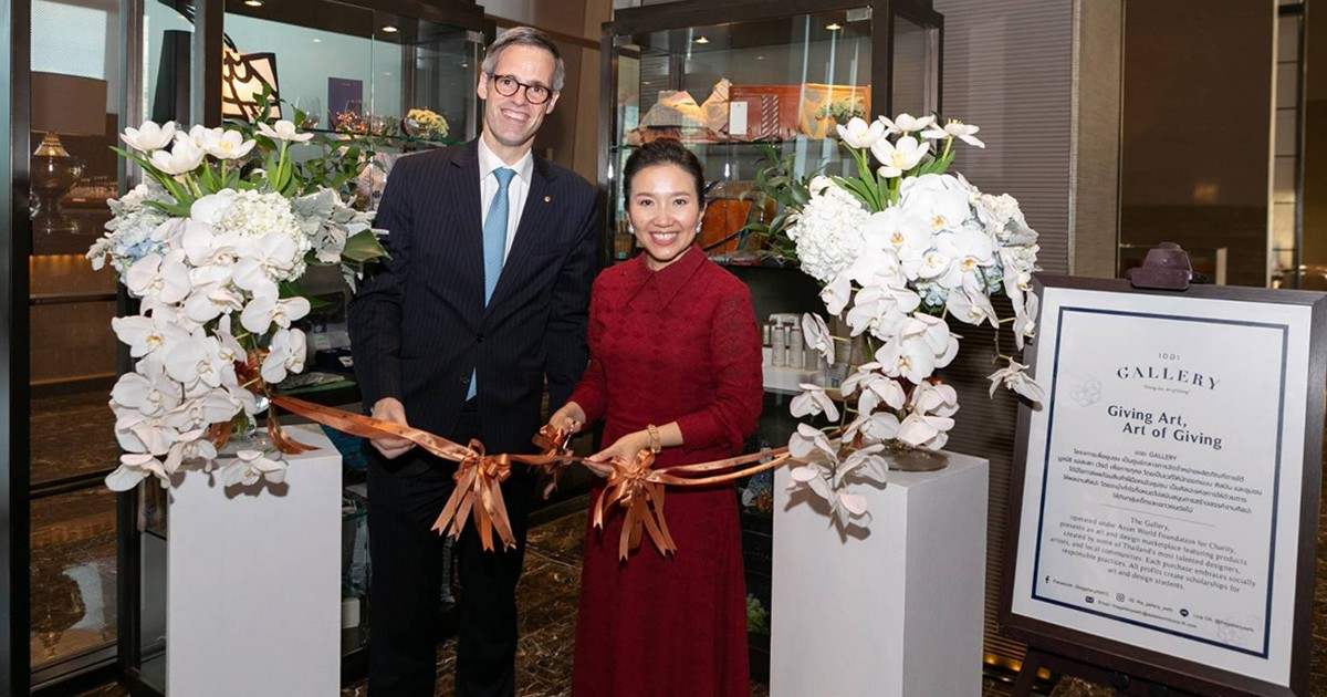 """""""The GALLERY"""" opens a new branch at The Okura Prestige Bangkok to support Thai artists"""